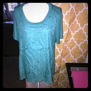 New with tags RXT with lace front over T, XL